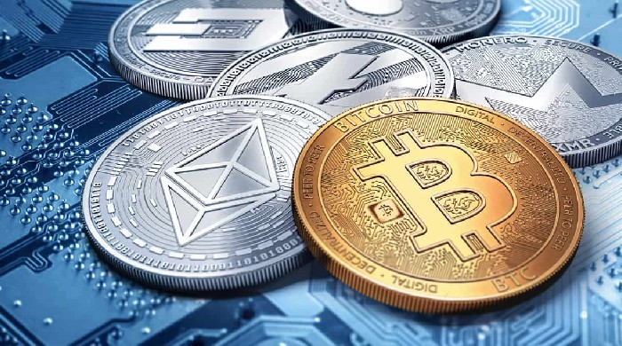 Cryptocurrency price fall