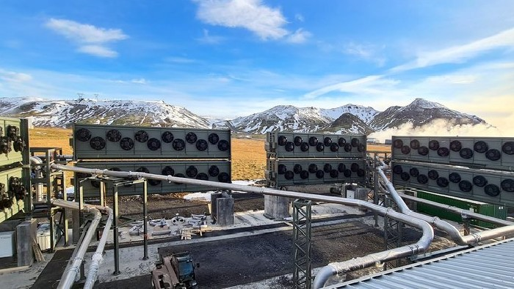 World's largest carbon sucking plant